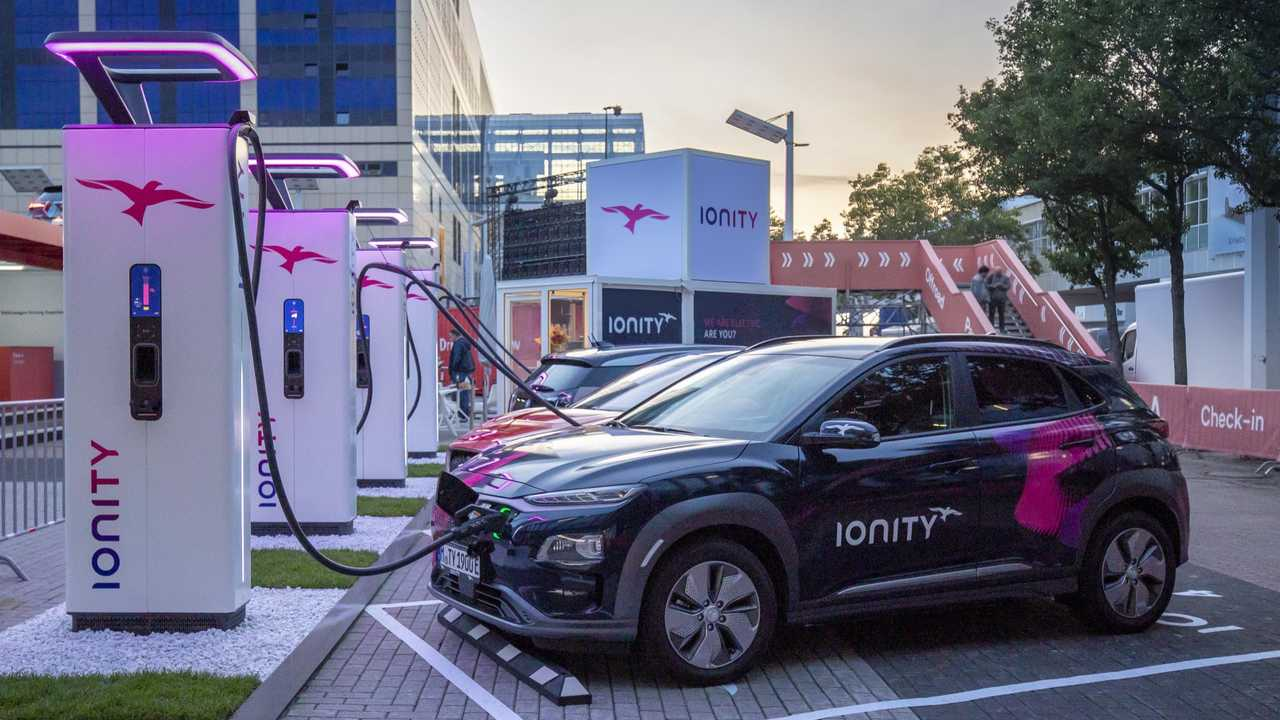 New IONITY fast chargers