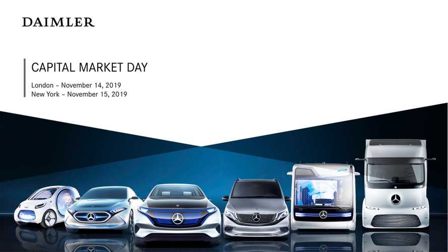 Daimler Capital Market Day 2019, van e truck