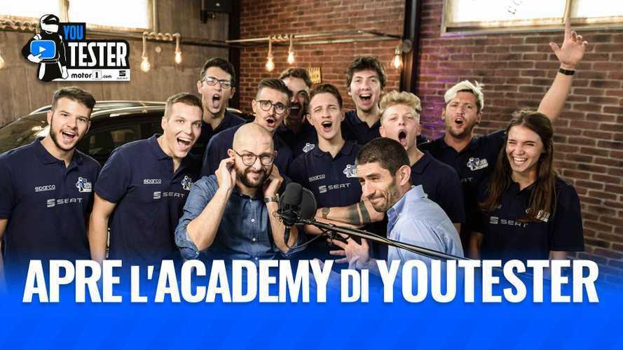 YouTester, riapre l'Academy di Motor1.com. Subito un eliminato!