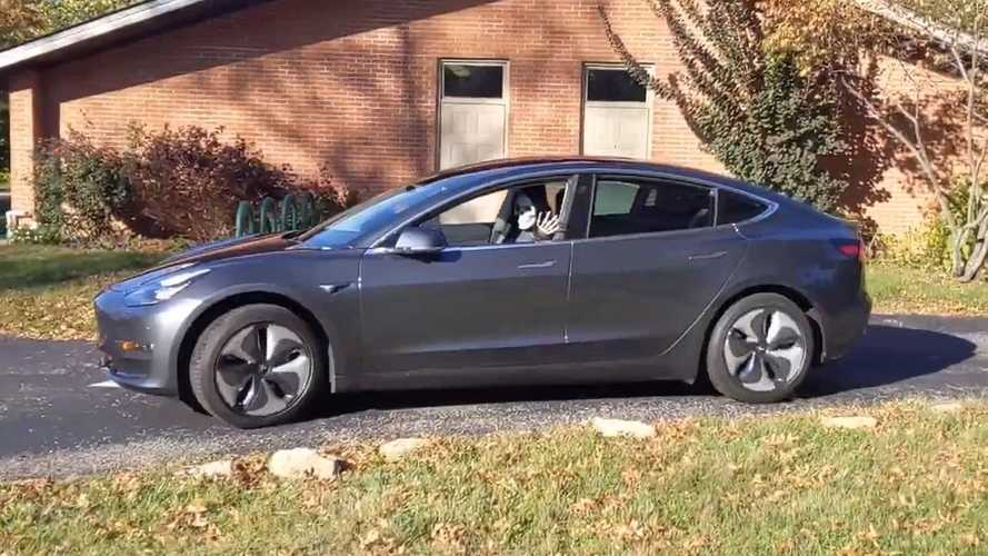 Happy Halloween! Leave It To Tesla Owners To Get Creative