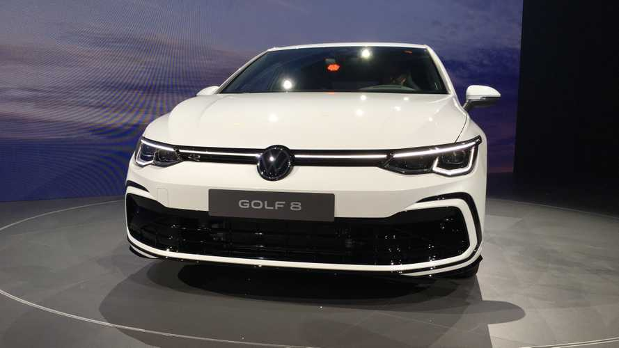 2020 VW Golf 8 live photos