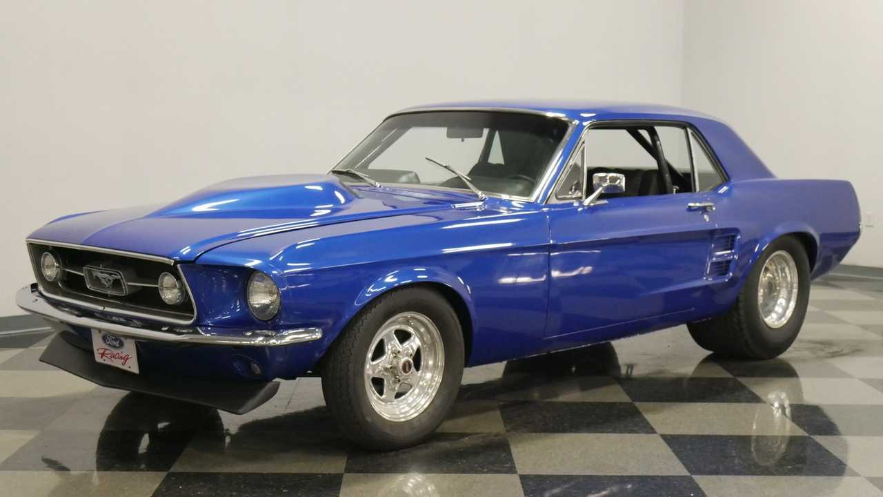 Mean 1967 Ford Mustang Pro Street Is A Wild Ride