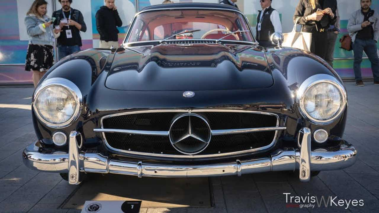 1957 Mercedes-Benz 300SL Gullwing Wins Best In Show At NYC Concours