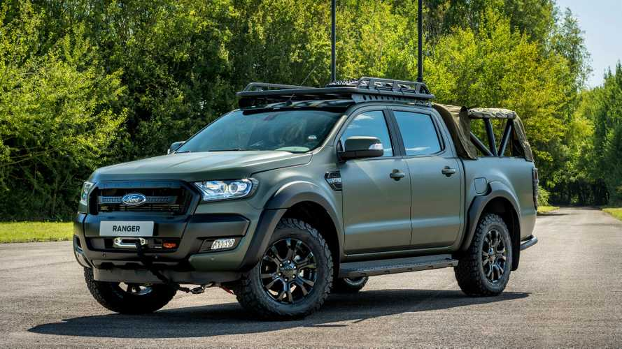 Militarized Ford Ranger By Ricardo Looks Ready For Action