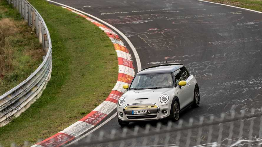 MINI Electric Nürburgring'de frensiz tur attı
