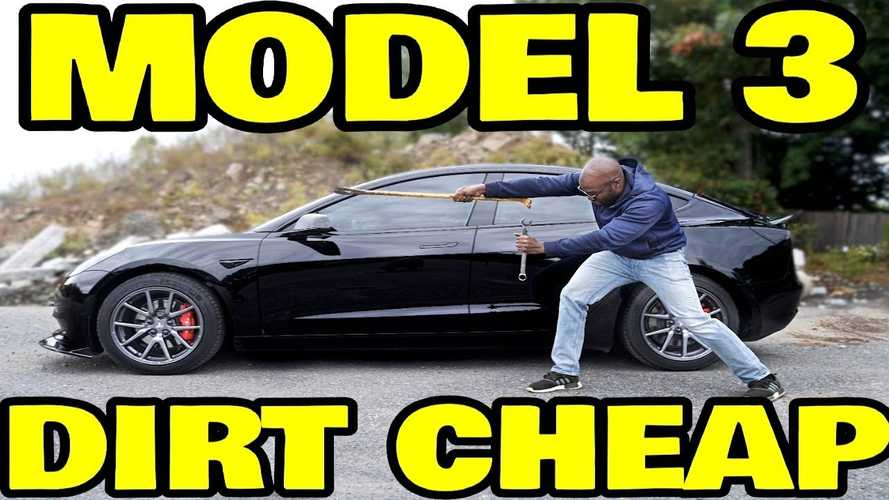 What Is The Lowest Price You Can Get A Used Tesla Model 3 For?
