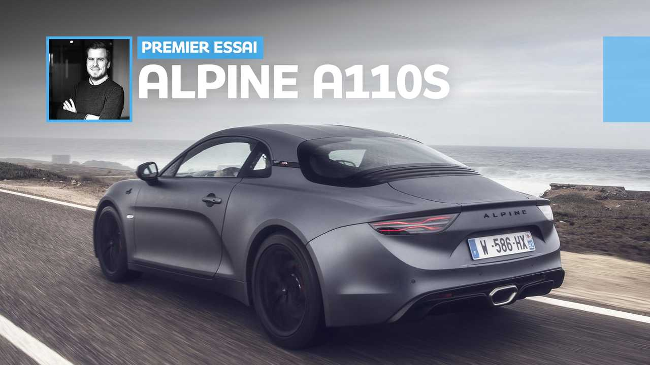Alpine A110S vignette