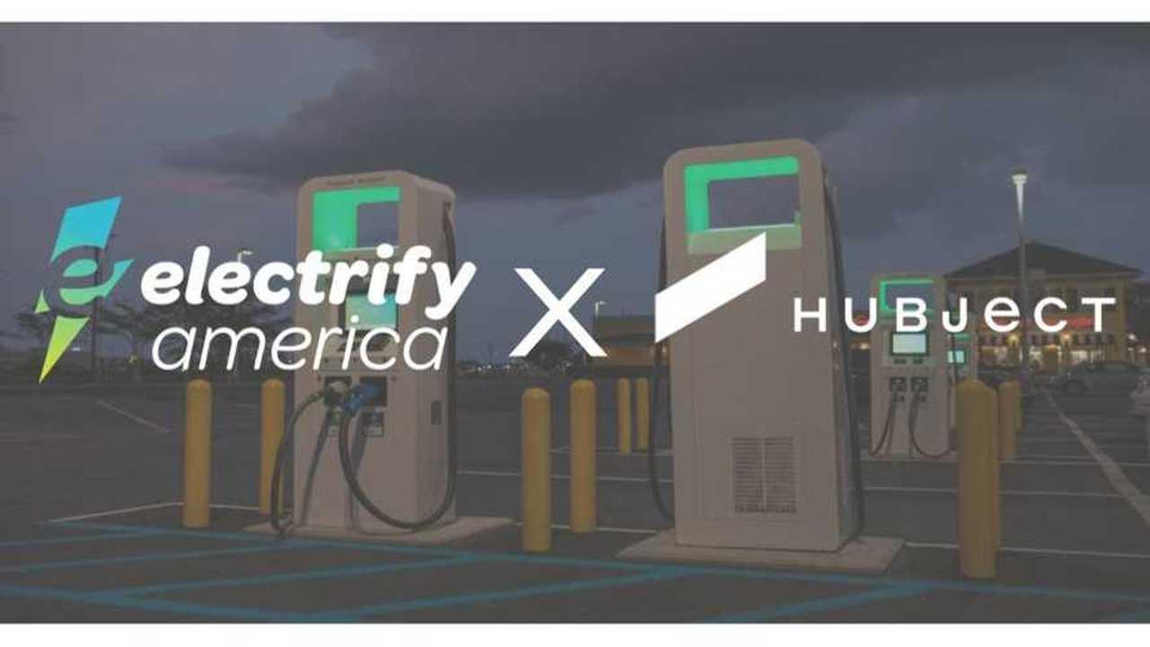 Electrify America, Hubject Plug&Charge