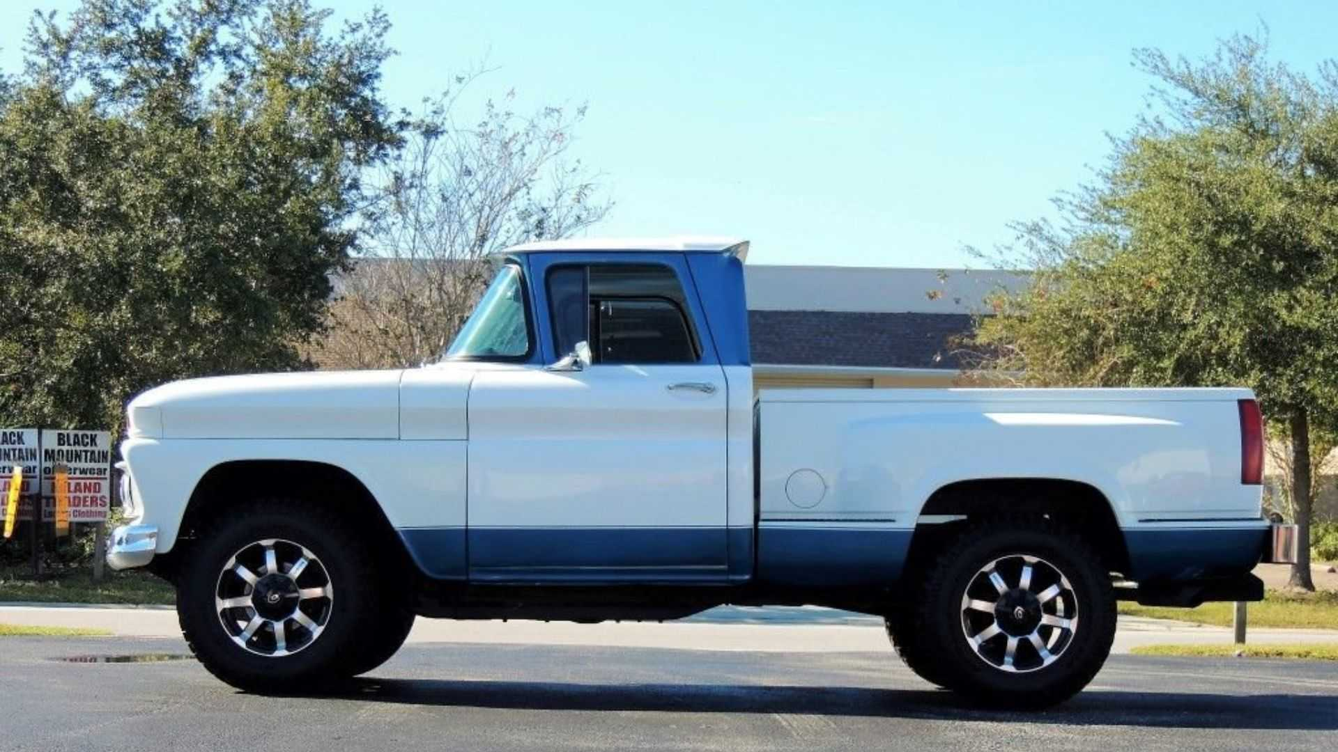 """[""""Rock A Restomod 1961 Chevy Pickup""""]"""