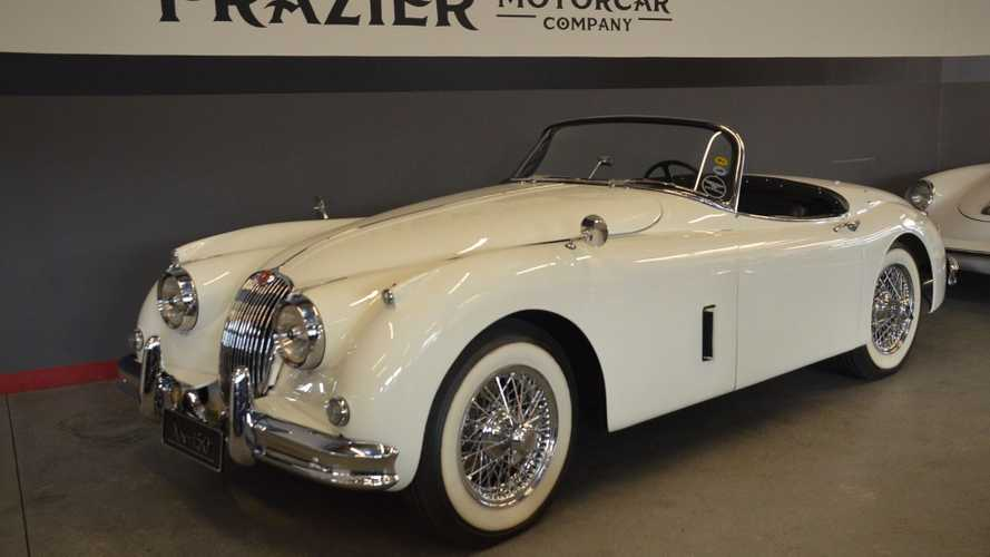 Keep It Classy In This Restored 1958 Jaguar XK150