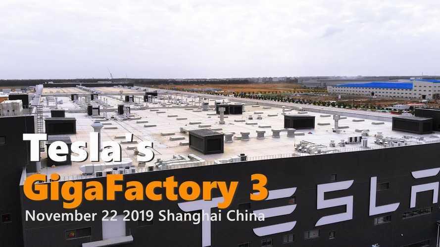 Tesla Gigafactory 3 Construction Progress November 22, 2019: Video