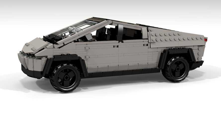 Tesla Cybertruck Lego is an easy match and we're not surprised