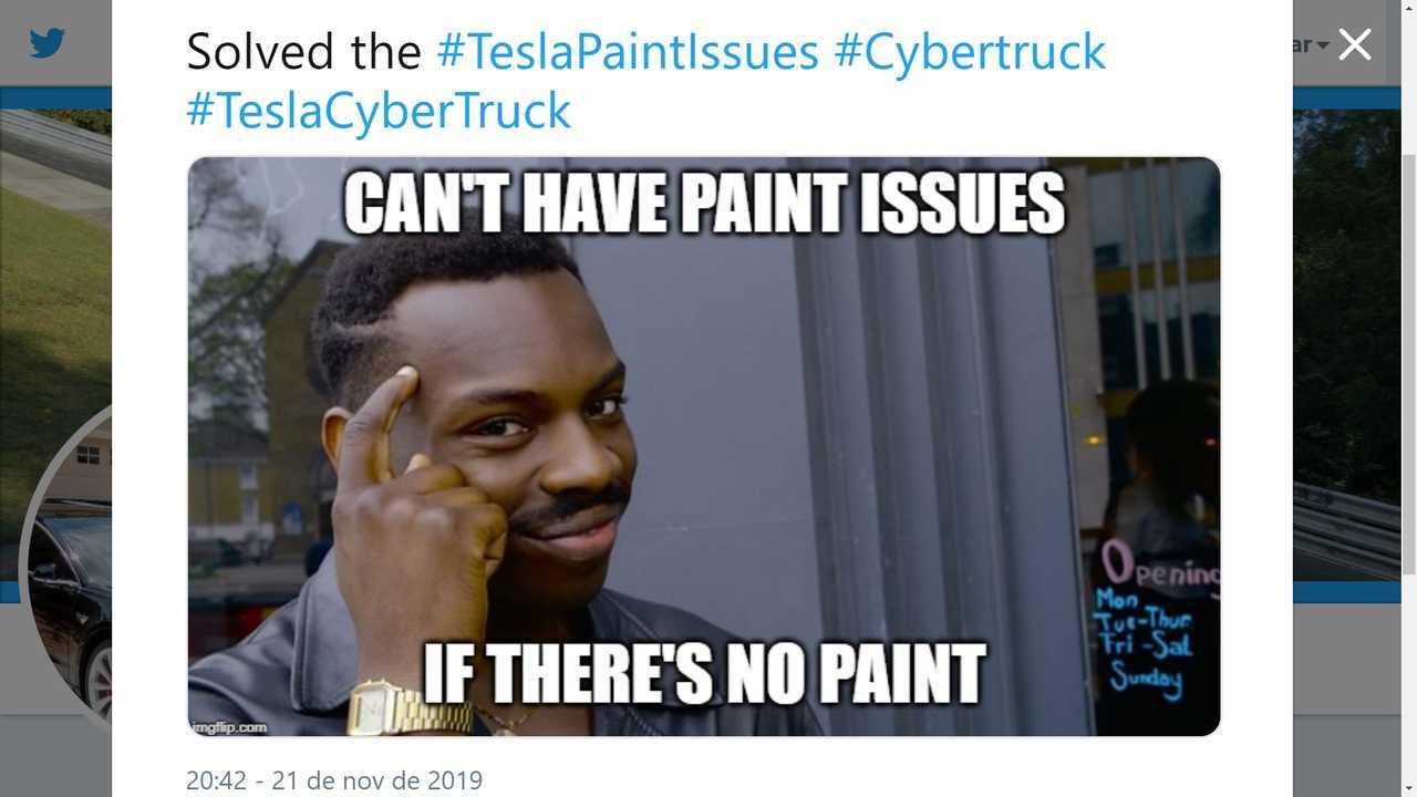 Paint? What paint?