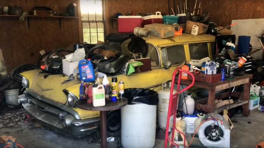 Barn Find 1957 Chevrolet Bel Air Wagon For Sale In NC