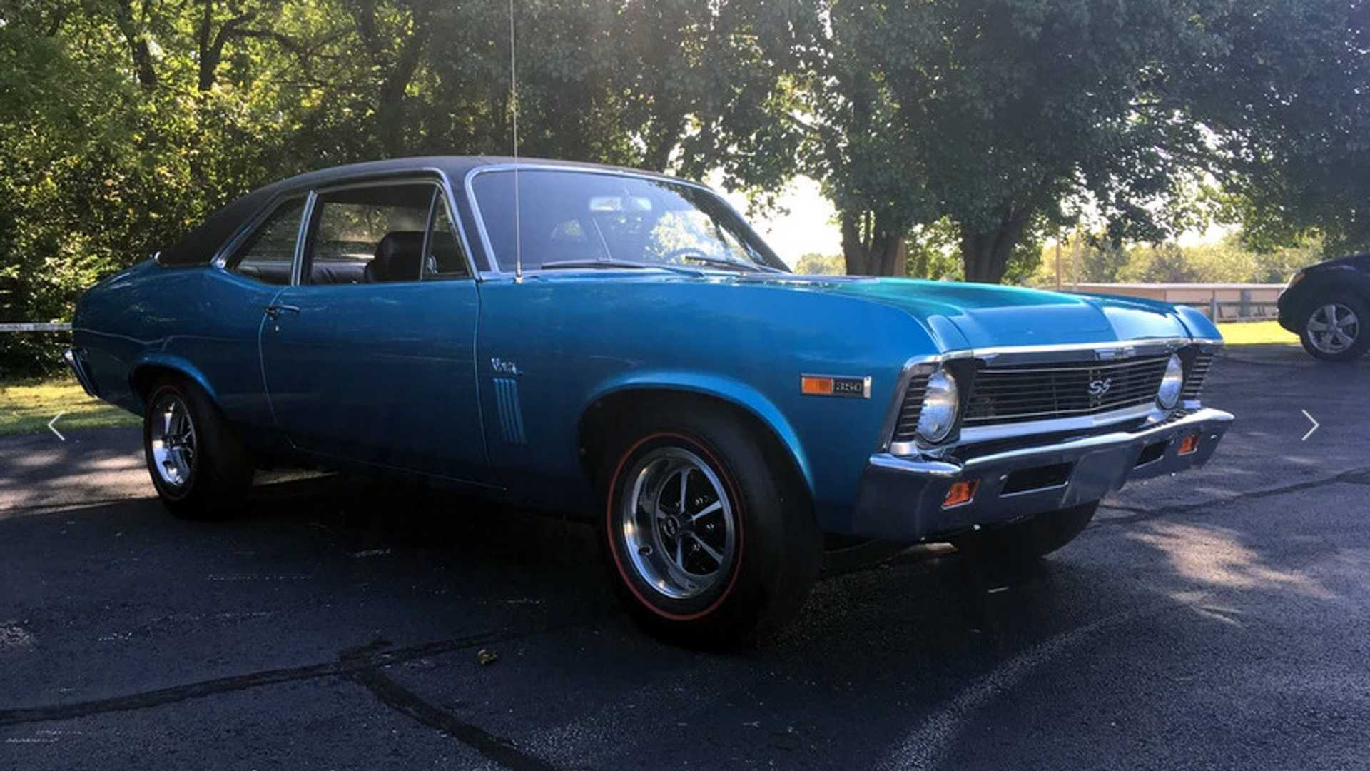 "[""Bid On This All-Original 1969 Chevrolet Nova SS""]"