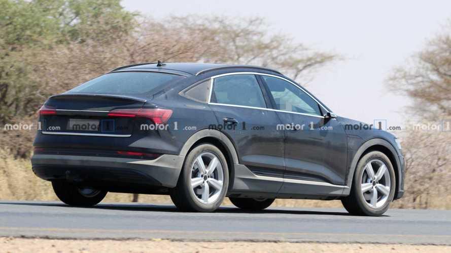 Audi e-tron Sportback 2020, fotos espía