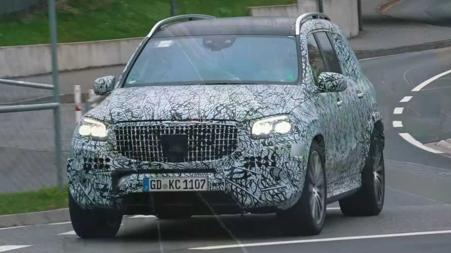 Mercedes-Maybach GLS Spied Preparing To Be Your Opulent Crossover