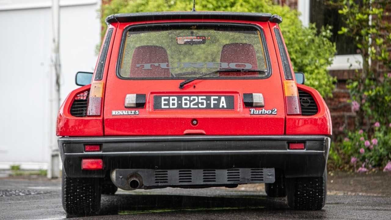 Subasta Renault 5 Turbo 2 Evolution de 1985