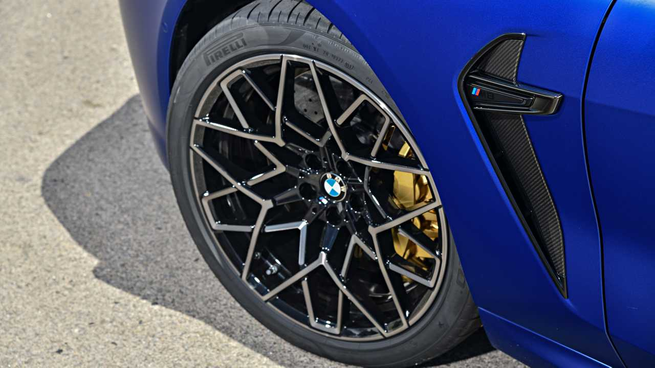 BMW M8 Coupe Marina Bay Blue