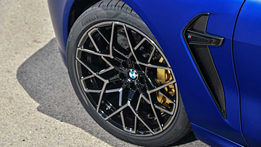 Pirelli developed tyres specially for the new BMW M8