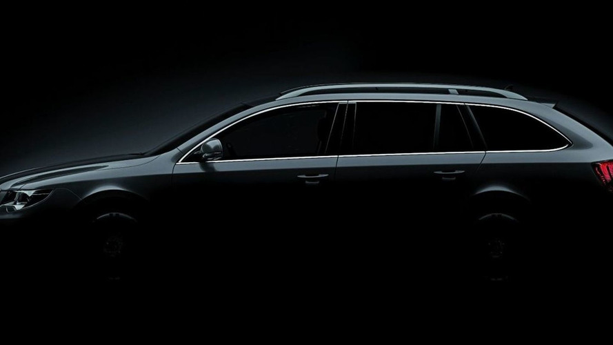Skoda Superb Kombi Wagon Teased Ahead of Frankfurt Motorshow Debut