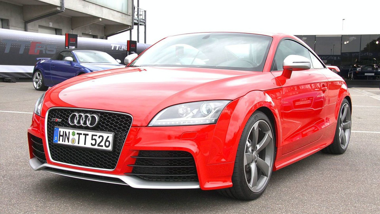 Audi Tt Rs Limited Edition S Tronic Announced In Australia