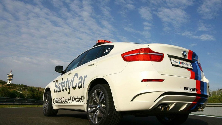 BMW X6 M Safety Car at Qatar MotoGP