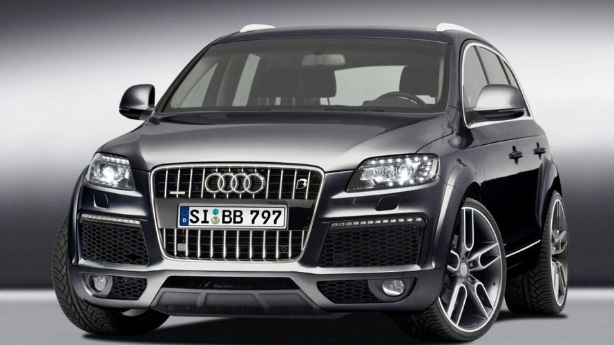B&B Tunes Audi Q7 6.0 V12 TDI facelift to 595 hp and 1,270 Nm