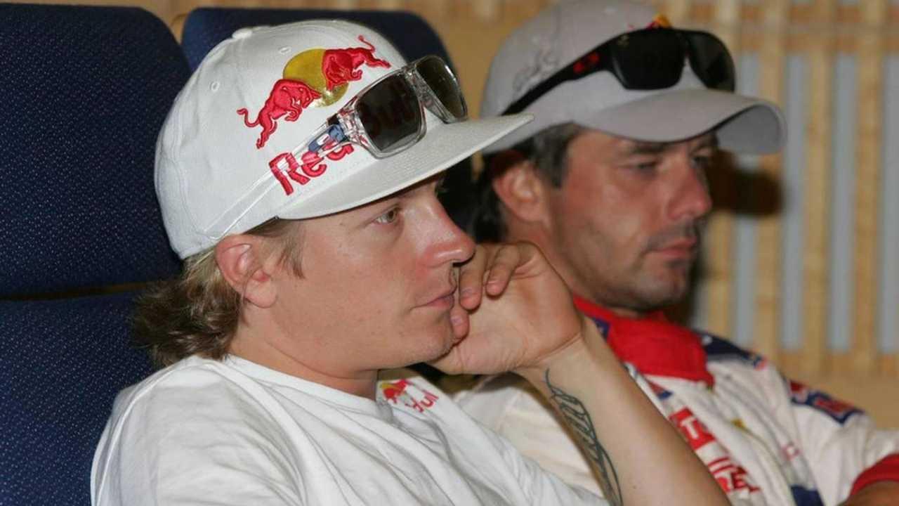 Kimi Raikkonen (FIN) Sebastien Loeb (FRA), Rally of Finland, World Rally Championship 2010, 29-13.07.2010 Finland