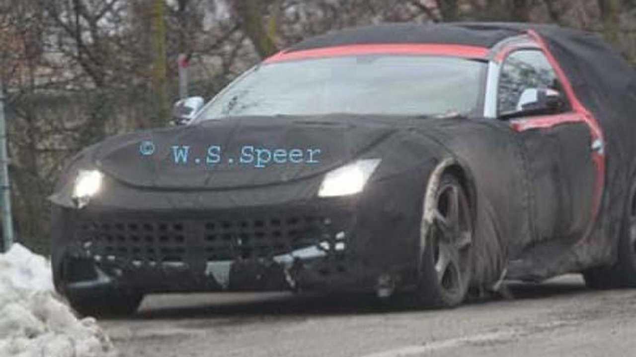 Ferrari 612 shooting brake prototype spy photo, 600, 05.01.2011