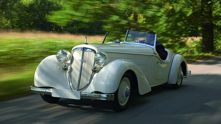 1935 Audi 225 Front Special Roadster Rebuilt for Spectacular Exhibition