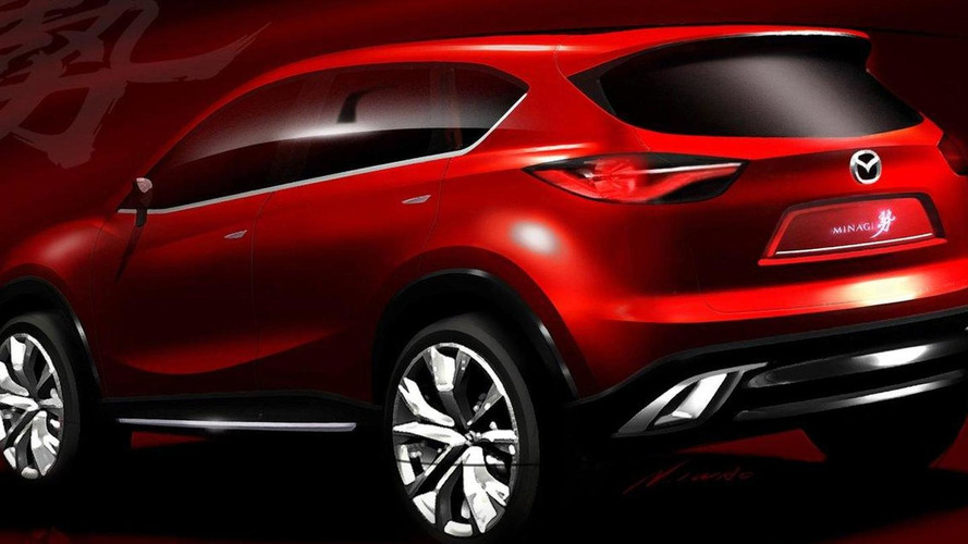 Mazda Minagi concept previewed for Geneva debut