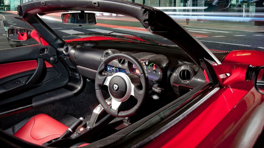 Tesla Launches Right Hand Drive Roadster
