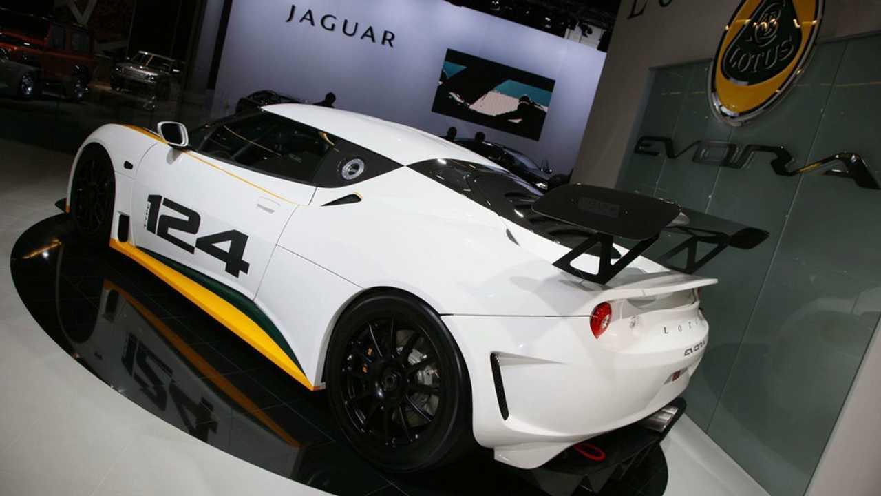 Lotus Evora Type 124 Endurance Racecar in Frankfurt