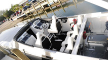 Mercedes SLS AMG Inspired Cigarette Racing Boat - 29.07.2010