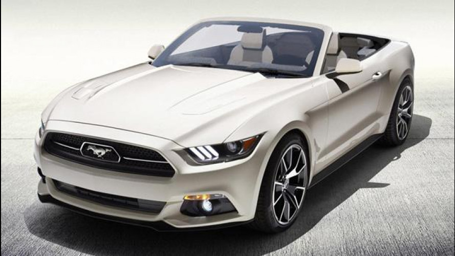 [Copertina] - L'unica Ford Mustang 50 Years Convertible si vince alla lotteria