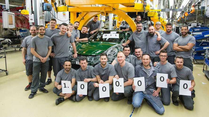 Porsche fabrica la unidad un millón del 911