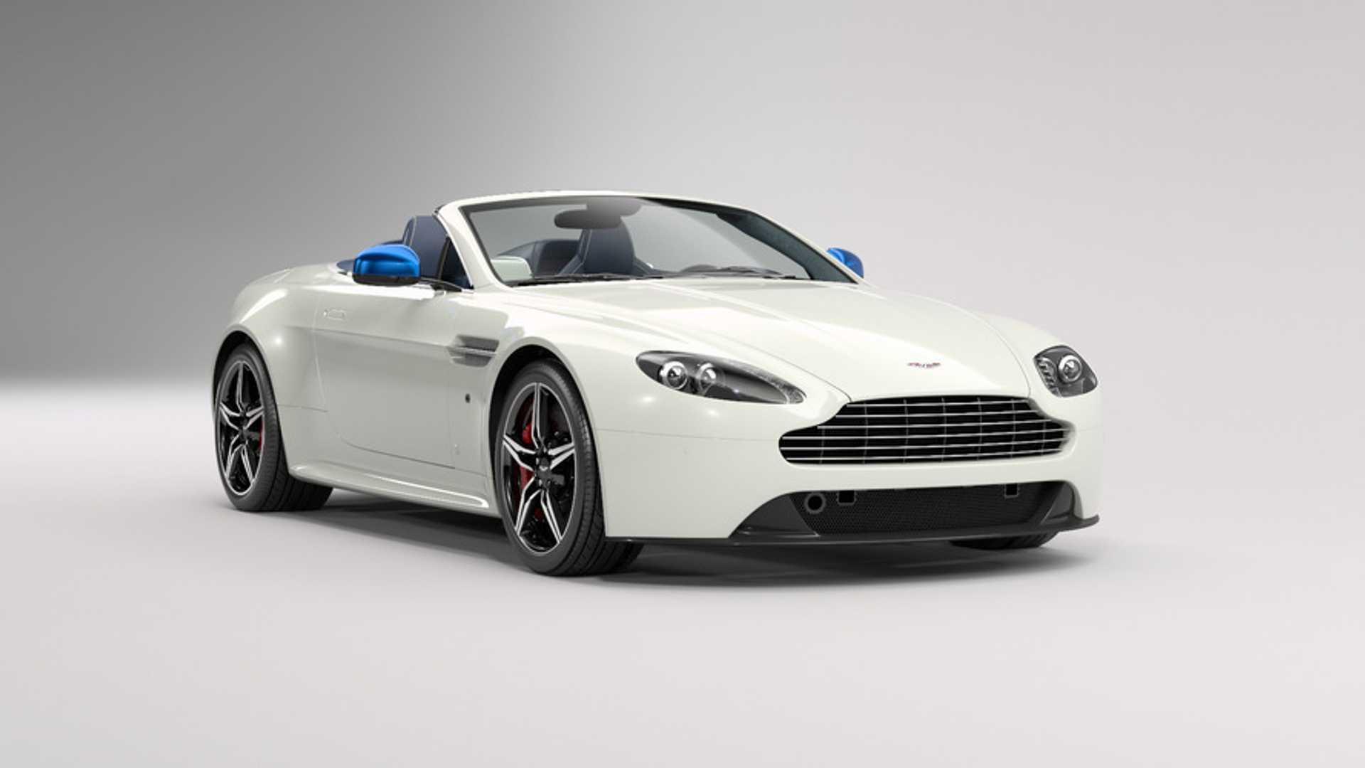 Aston Martin V8 Vantage S Gb Edition Celebrates British Culture