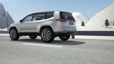 Jeep Yuntu Concept, un SUV híbrido enchufable... para China