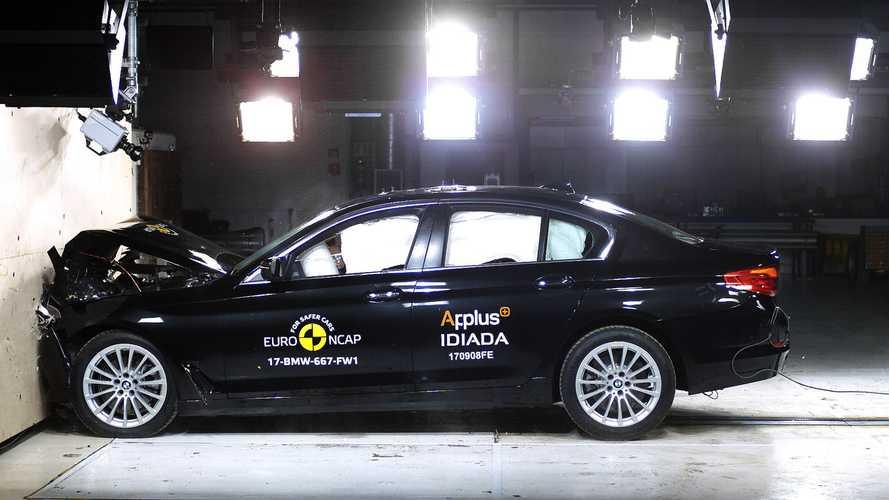 Crash-test - Cinq étoiles pour la BMW Série 5