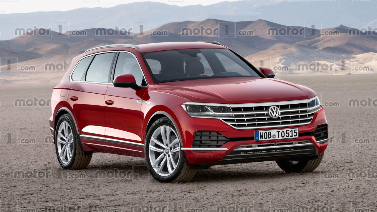 2018 VW Touareg render