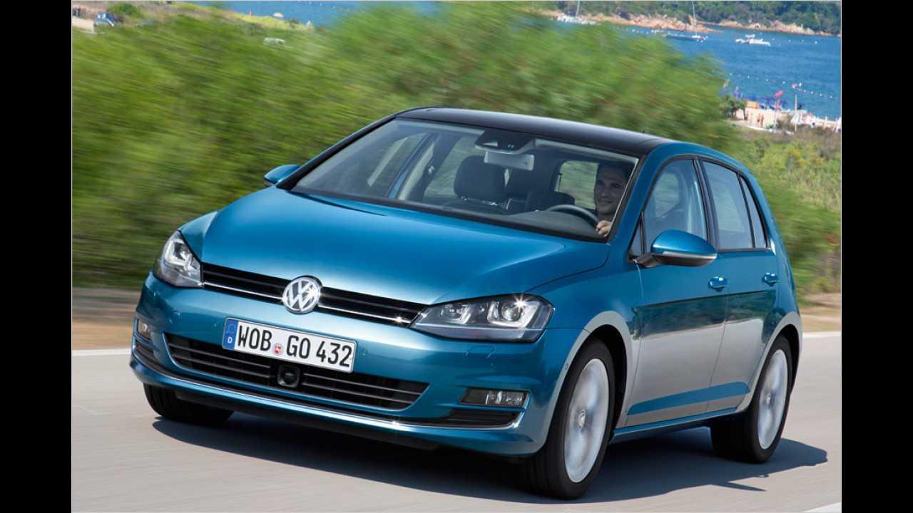 Kompaktwagen: VW Golf als Bestseller