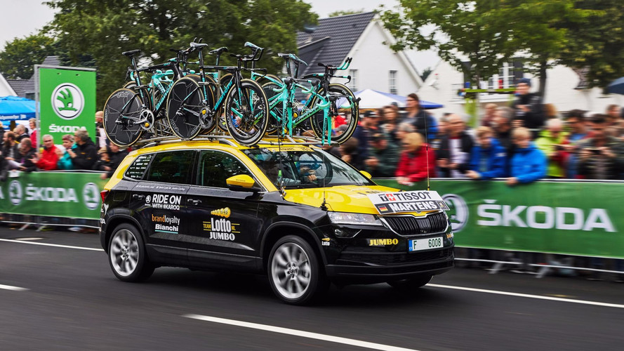 Škoda sort le Karoq sur les routes du Tour de France