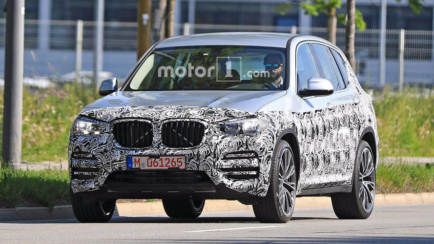 BMW X3 nouvelles photos espion