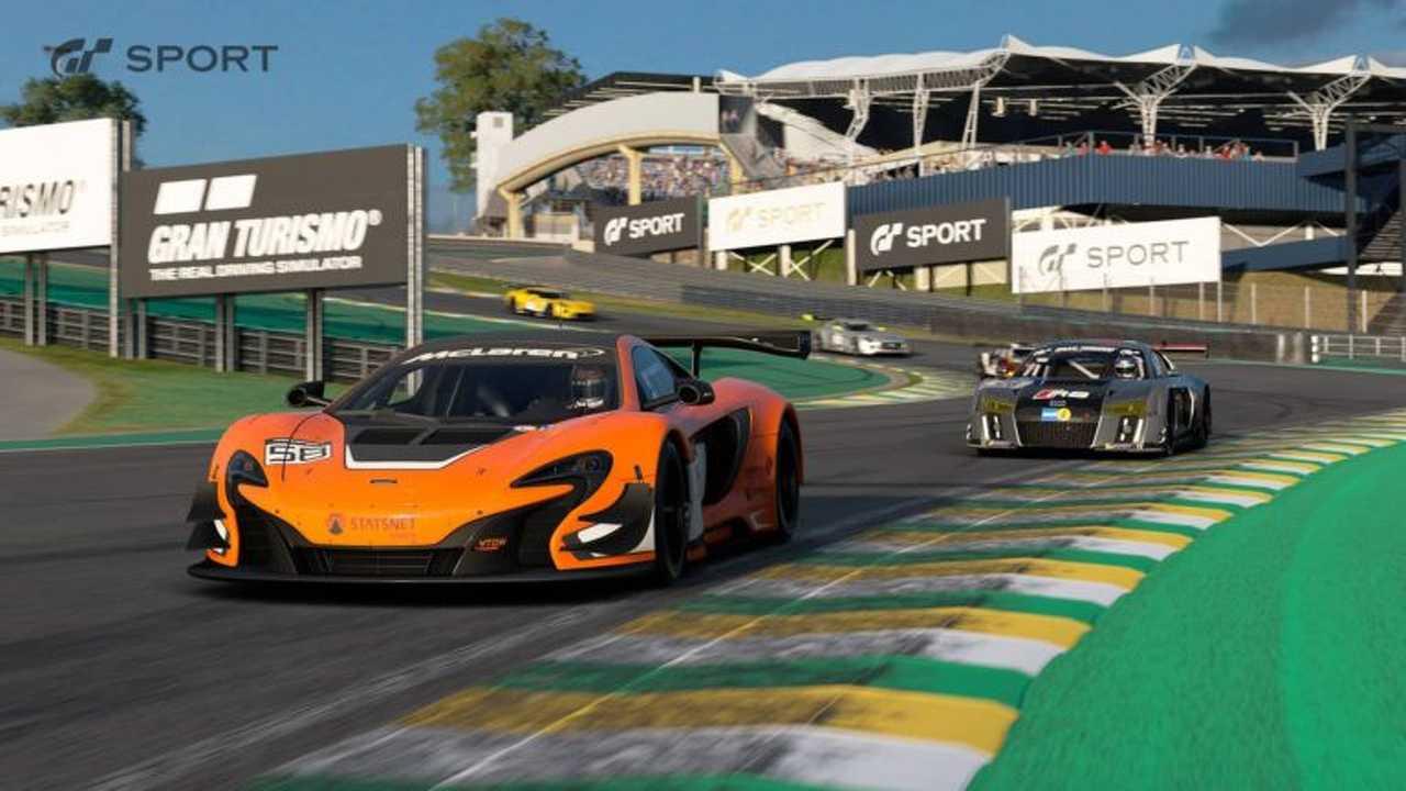 Interlagos no Gran Turismo Sport