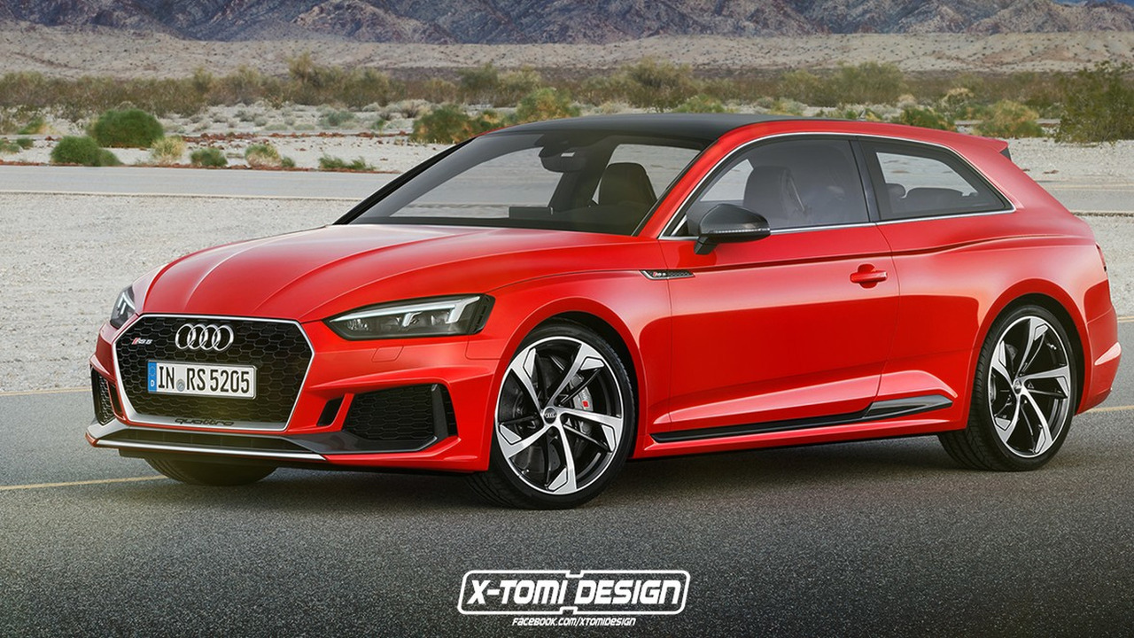 Audi RS5 Shooting Brake render