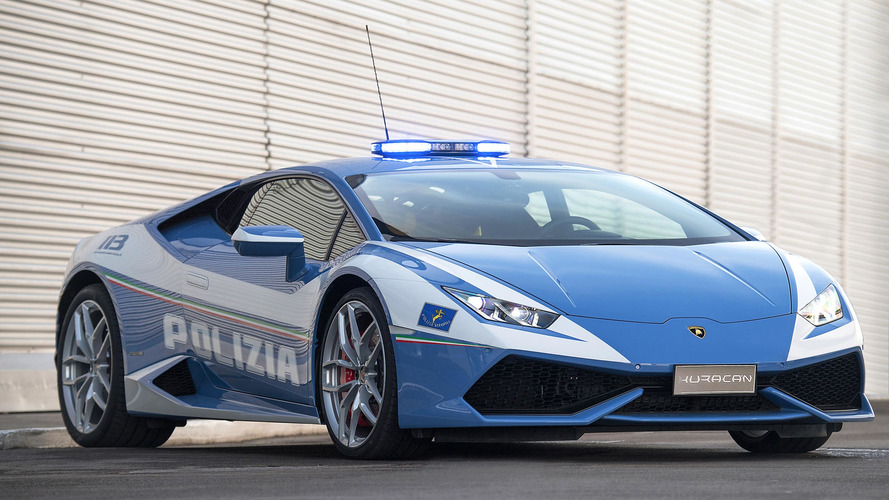 Lamborghini Gives Italian Police Another Supercar