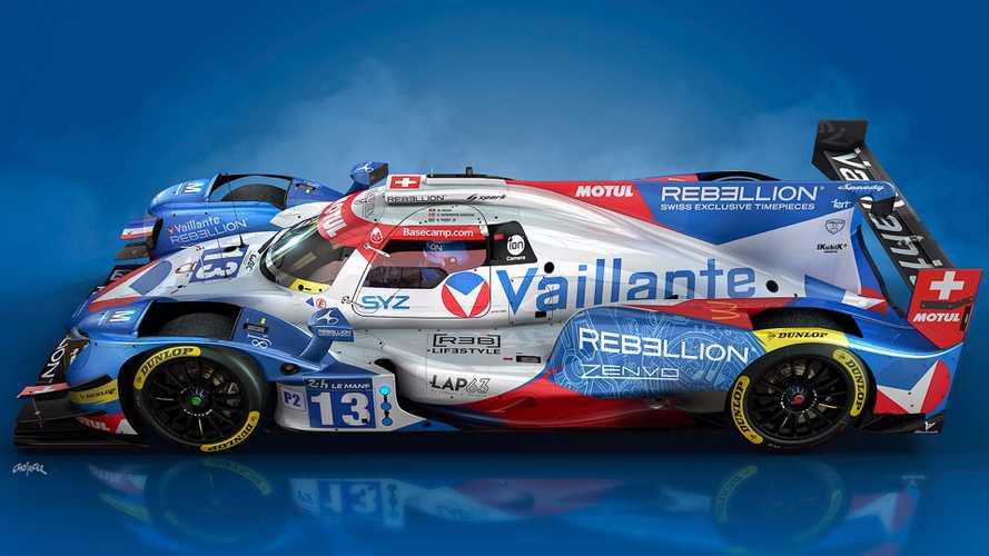 Le Mans - La livrée de la Vaillante Rebellion dévoilée