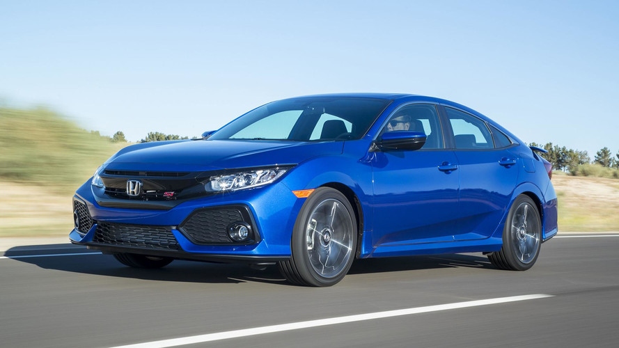 Honda Civic Si Sedan 2017