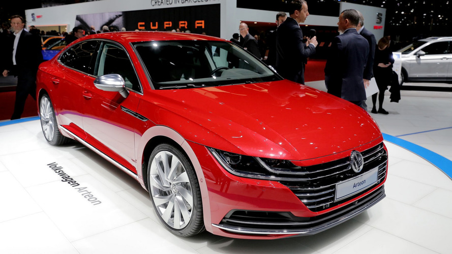 Sucessor do CC, o belo e ousado Volkswagen Arteon estreia ao vivo